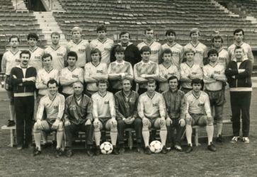 A DAC csapata az 1970-es években (Csaplár Benedek Adattár, Dunaszerdahely)